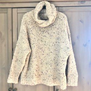 Zara Oversized Knit Cowl Neck Sweater